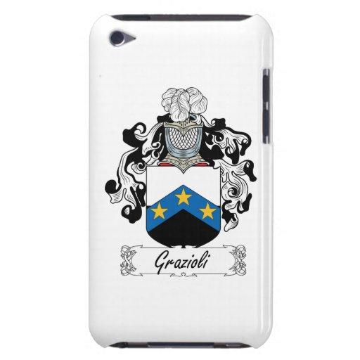 Escudo de la familia de Grazioli iPod Touch Funda