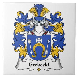 Escudo de la familia de Grebecki Tejas
