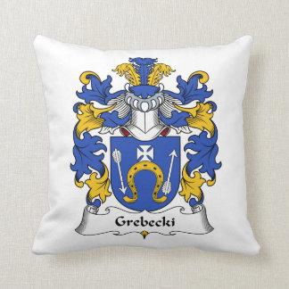 Escudo de la familia de Grebecki Cojines