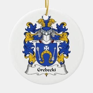 Escudo de la familia de Grebecki Ornamentos De Reyes Magos