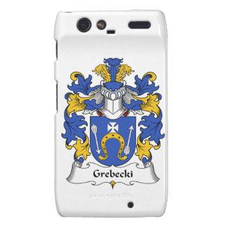 Escudo de la familia de Grebecki Motorola Droid RAZR Funda