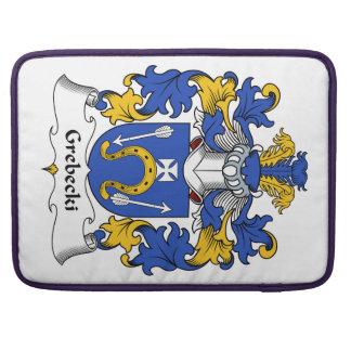 Escudo de la familia de Grebecki Fundas Para Macbooks