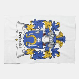 Escudo de la familia de Grebecki Toalla De Cocina