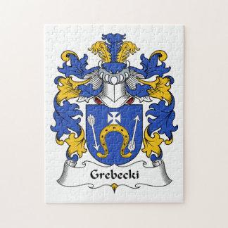 Escudo de la familia de Grebecki Puzzle Con Fotos
