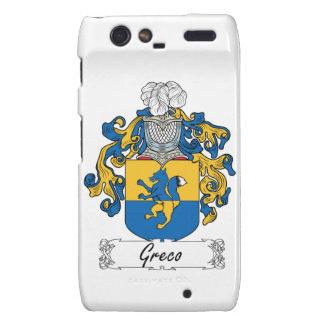Escudo de la familia de Greco Droid RAZR Fundas