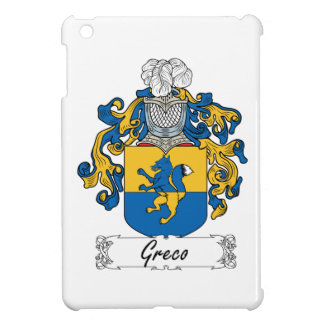 Escudo de la familia de Greco iPad Mini Coberturas