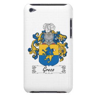 Escudo de la familia de Greco iPod Touch Carcasas