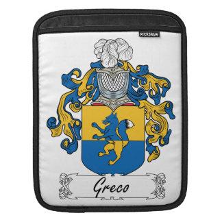 Escudo de la familia de Greco Mangas De iPad