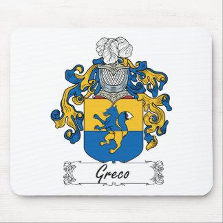 Escudo de la familia de Greco Tapetes De Raton