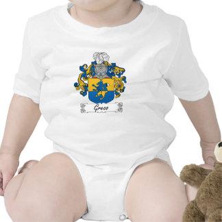 Escudo de la familia de Greco Traje De Bebé