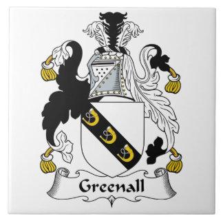 Escudo de la familia de Greenall Azulejos