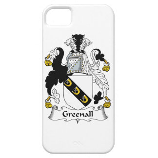 Escudo de la familia de Greenall iPhone 5 Case-Mate Funda