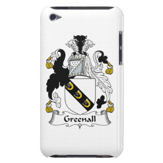 Escudo de la familia de Greenall iPod Case-Mate Cobertura