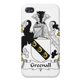 Escudo de la familia de Greenall iPhone 4/4S Carcasas