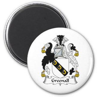 Escudo de la familia de Greenall Iman De Frigorífico