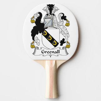 Escudo de la familia de Greenall Pala De Tenis De Mesa