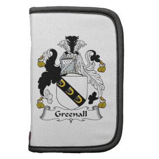 Escudo de la familia de Greenall Planificadores