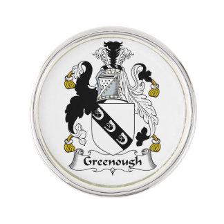 Escudo de la familia de Greenough Pin