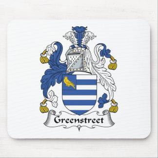 Escudo de la familia de Greenstreet Alfombrilla De Ratones
