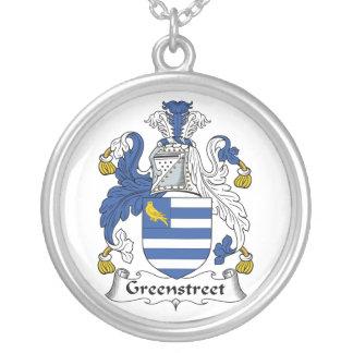 Escudo de la familia de Greenstreet Pendientes Personalizados