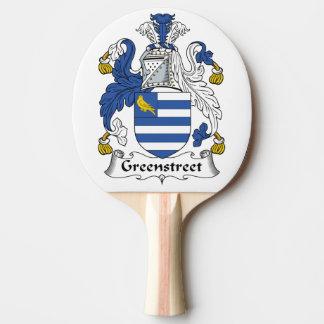 Escudo de la familia de Greenstreet Pala De Ping Pong