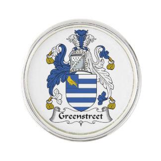 Escudo de la familia de Greenstreet Pin