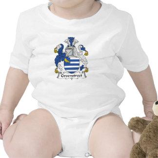 Escudo de la familia de Greenstreet Traje De Bebé