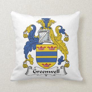 Escudo de la familia de Greenwell Almohadas
