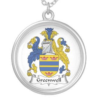 Escudo de la familia de Greenwell Collar Personalizado