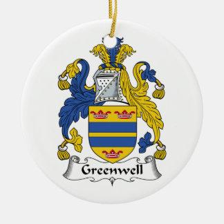 Escudo de la familia de Greenwell Adorno Para Reyes