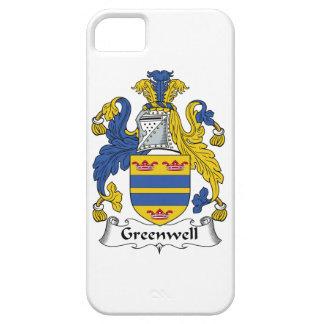 Escudo de la familia de Greenwell iPhone 5 Carcasas