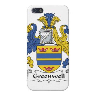 Escudo de la familia de Greenwell iPhone 5 Cobertura