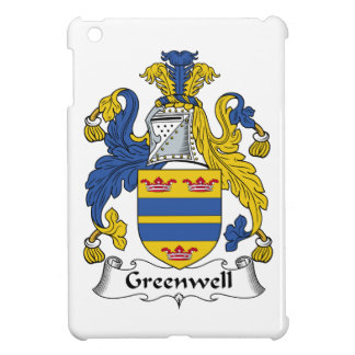 Escudo de la familia de Greenwell iPad Mini Fundas