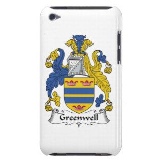 Escudo de la familia de Greenwell iPod Touch Funda