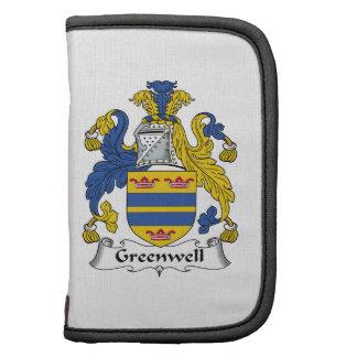 Escudo de la familia de Greenwell Organizador