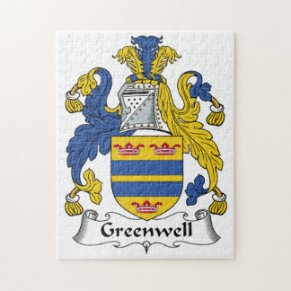 Escudo de la familia de Greenwell Rompecabezas
