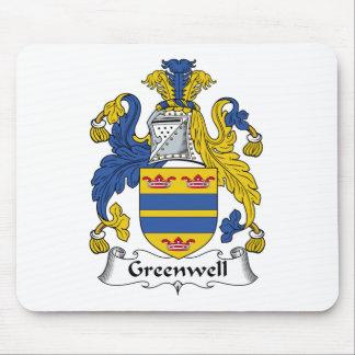 Escudo de la familia de Greenwell Alfombrilla De Ratones