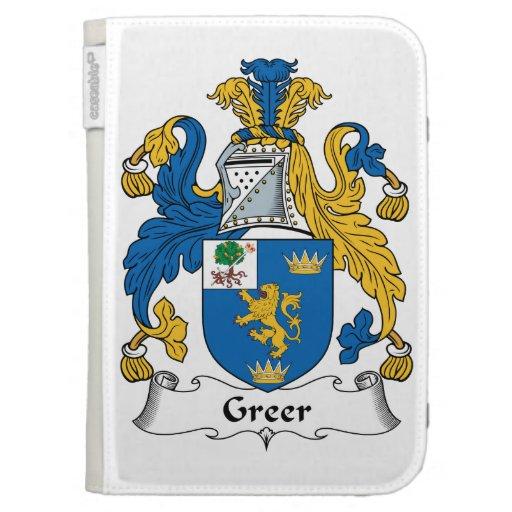 Escudo de la familia de Greer