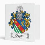 Escudo de la familia de Gregori