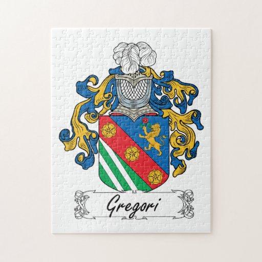 Escudo de la familia de Gregori Rompecabeza