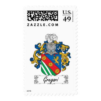 Escudo de la familia de Gregori Franqueo