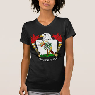 Escudo de la familia de Gregorie T Shirts