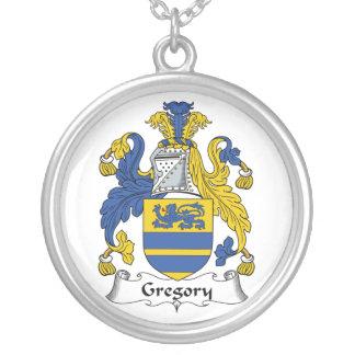 Escudo de la familia de Gregory Colgante Redondo