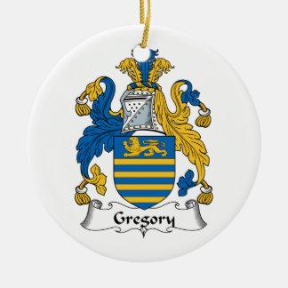 Escudo de la familia de Gregory Adorno Redondo De Cerámica