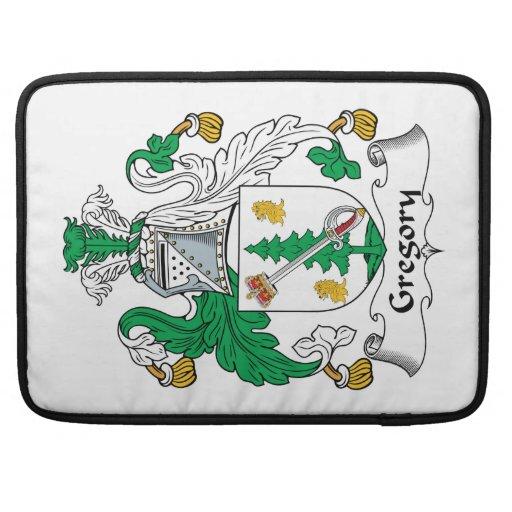 Escudo de la familia de Gregory Fundas Para Macbook Pro