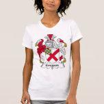 Escudo de la familia de Gregson Camiseta