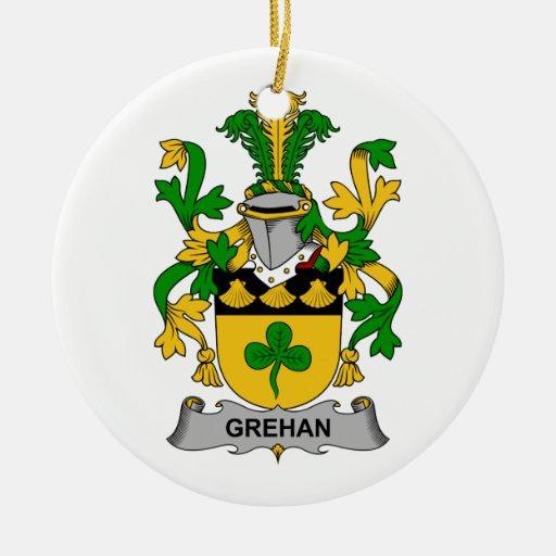 Escudo de la familia de Grehan Adorno De Reyes