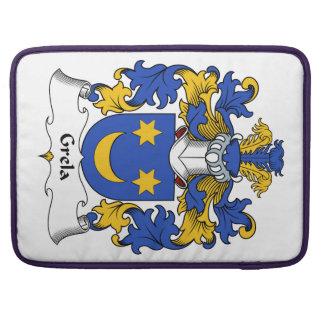 Escudo de la familia de Grela Funda Macbook Pro