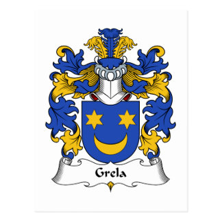Escudo de la familia de Grela Postal