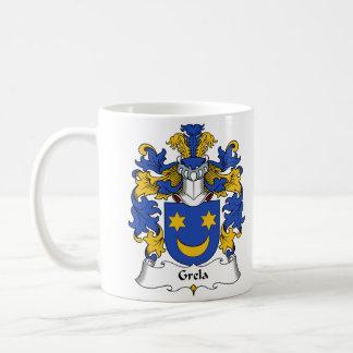 Escudo de la familia de Grela Taza De Café